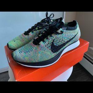 Nike Flyknit Racer 2.0 multicolor deadstock shoes
